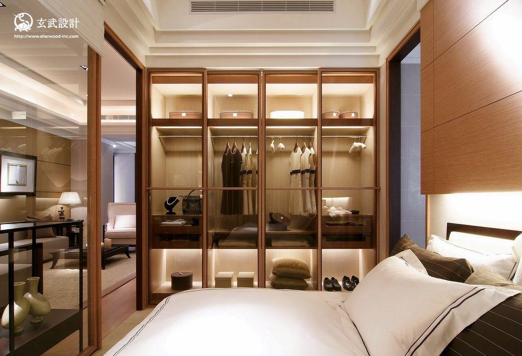 新中式风格卧室门装修效果图图片