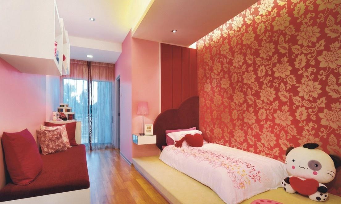 90后小户型卧室装修效果图 可爱的女生卧室