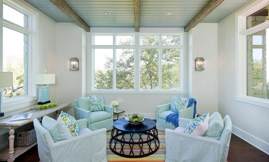 小客厅装修效果图 北欧小清新客厅