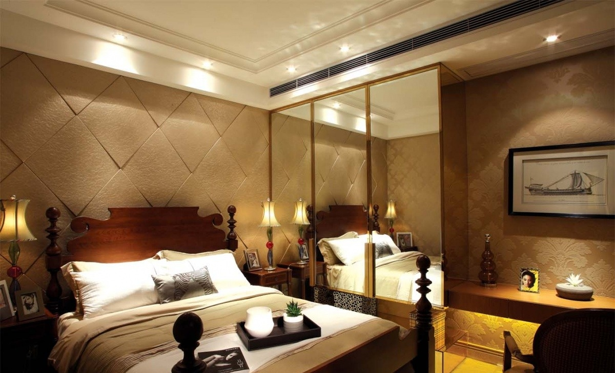 2015欧式主卧室设计效果图