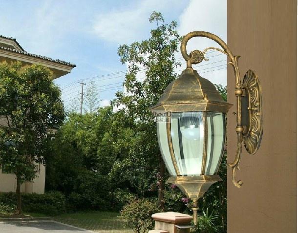 室外欧式壁灯 - 装修效果图 - 九正家居网