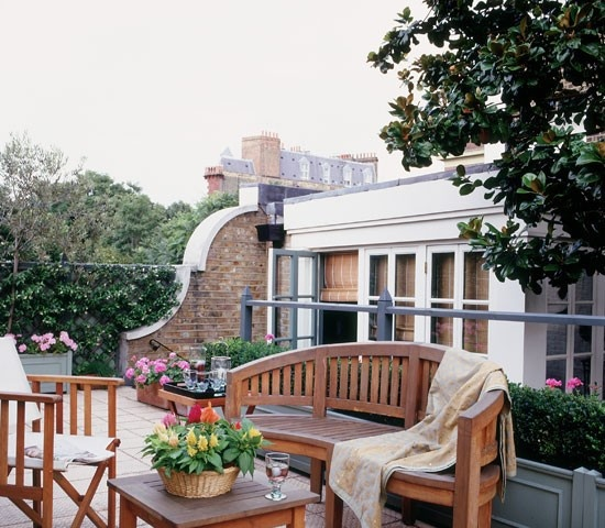 楼顶花园设计 - 装修效果图 - 九正家居网