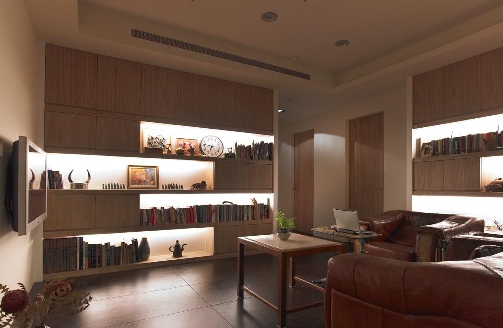 开放式书房效果图