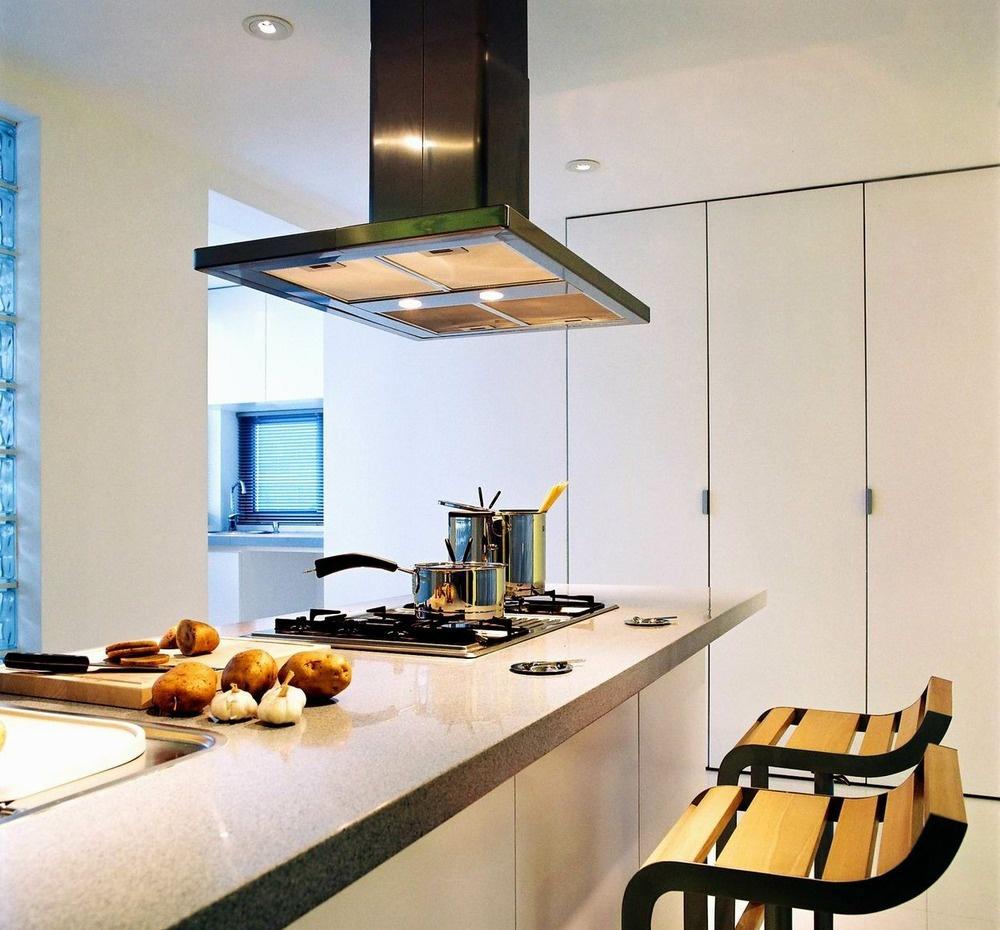 简约风格厨房岛台装修效果图