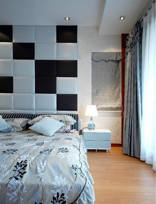 主卧室装修床头背景墙效果图