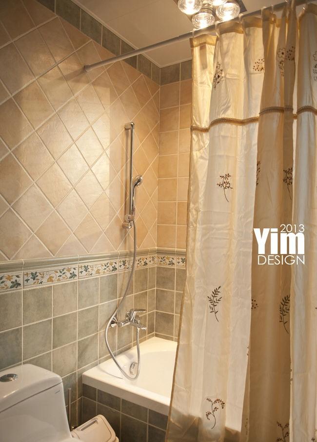 家居浴室浴帘装修图片 - 九正家居装修效果图