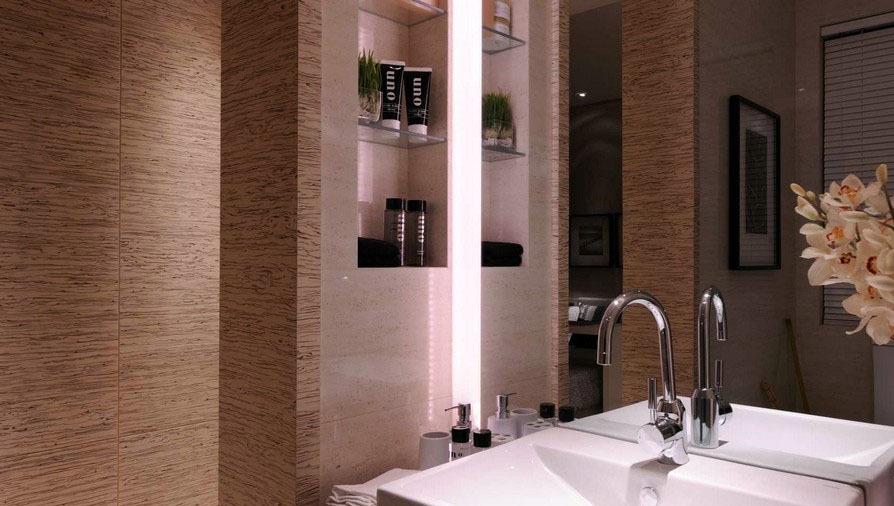 卫生间洗脸盆设计效果图