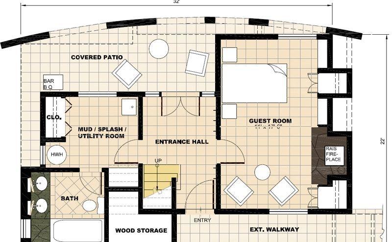 单间套房设计图