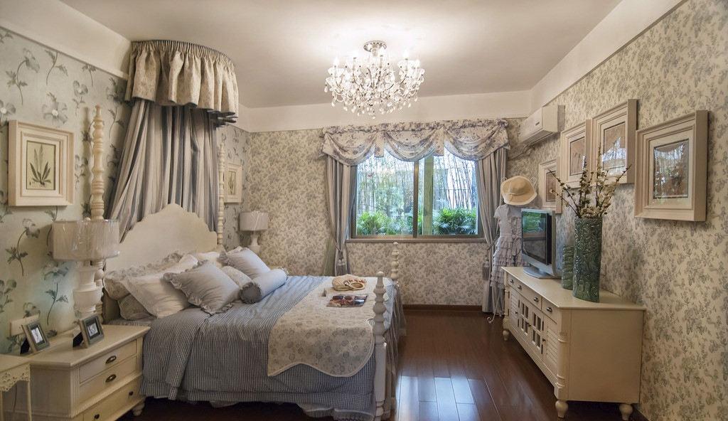 欧式儿童房壁纸装修设计 - 九正家居装修效果图