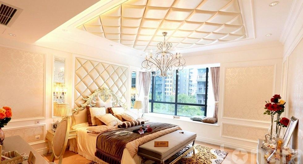欧式卧室家装吊顶效果图图片