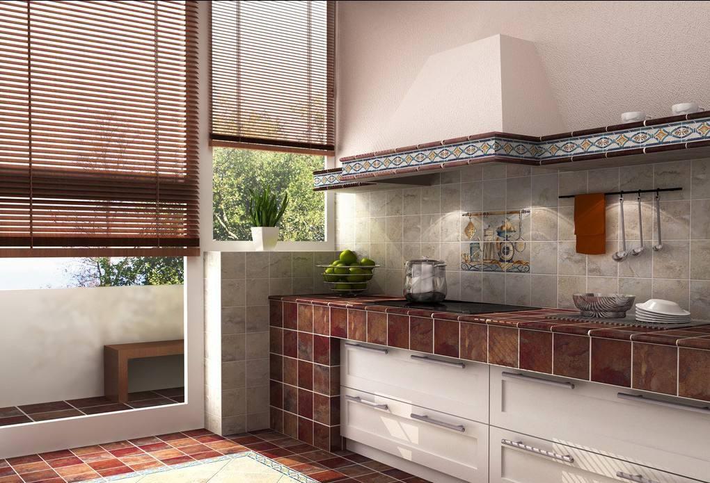 砖砌阳台厨房装修效果图