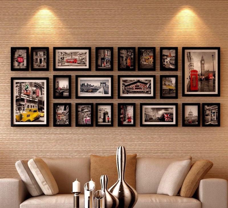 客厅相片墙图片 - 九正家居装修效果图