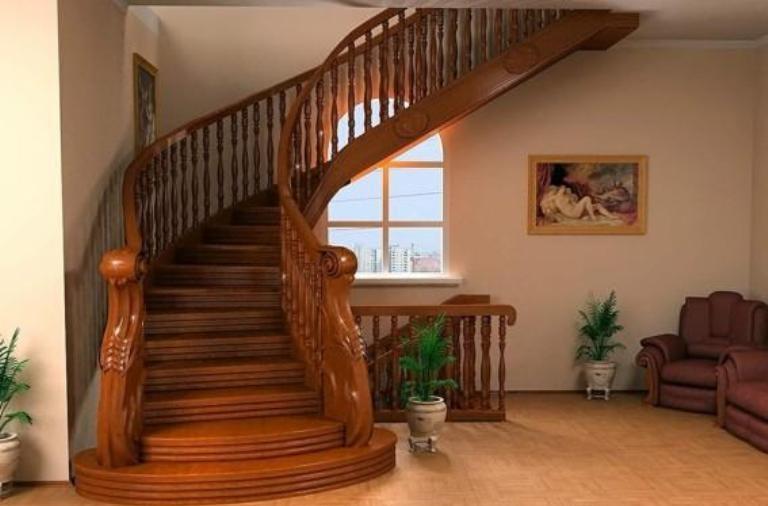 木楼梯设计图片