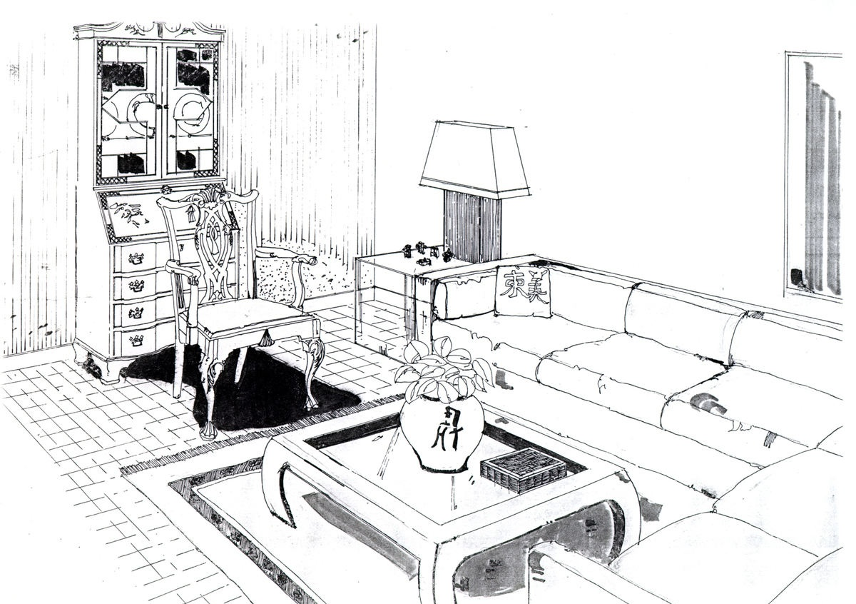 室内设计手绘效果图片大全