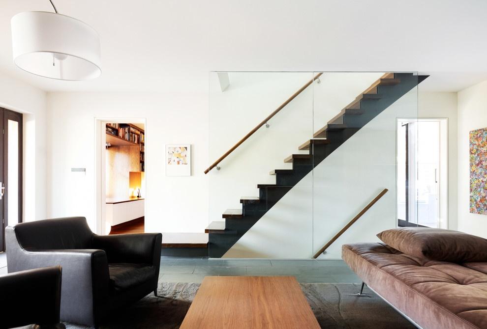家装房间楼梯设计图 - 九正家居装修效果图