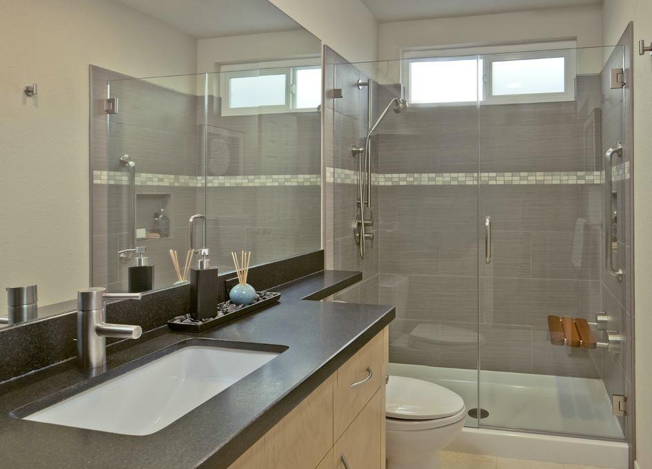 家装设计2平米卫生间图片欣赏 - 九正家居装修效果图
