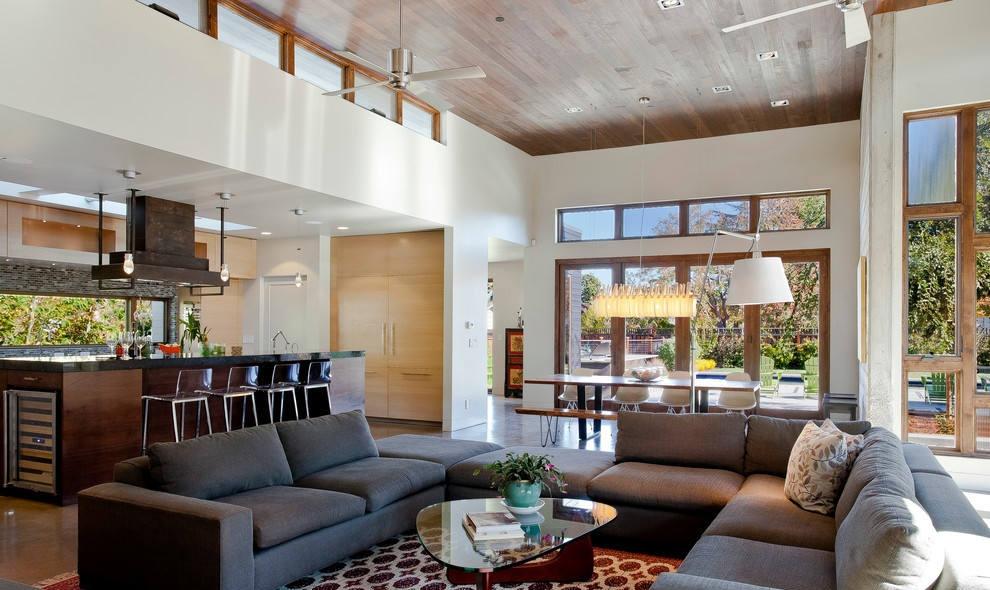 北欧风格客厅吊顶效果图 - 九正家居装修效果图图片