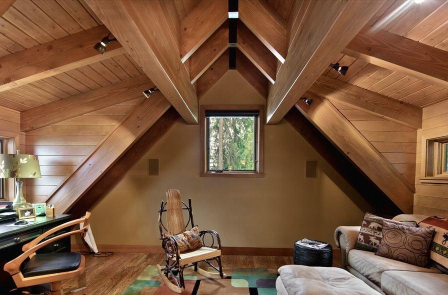 美式设计室内阁楼效果图大全2015