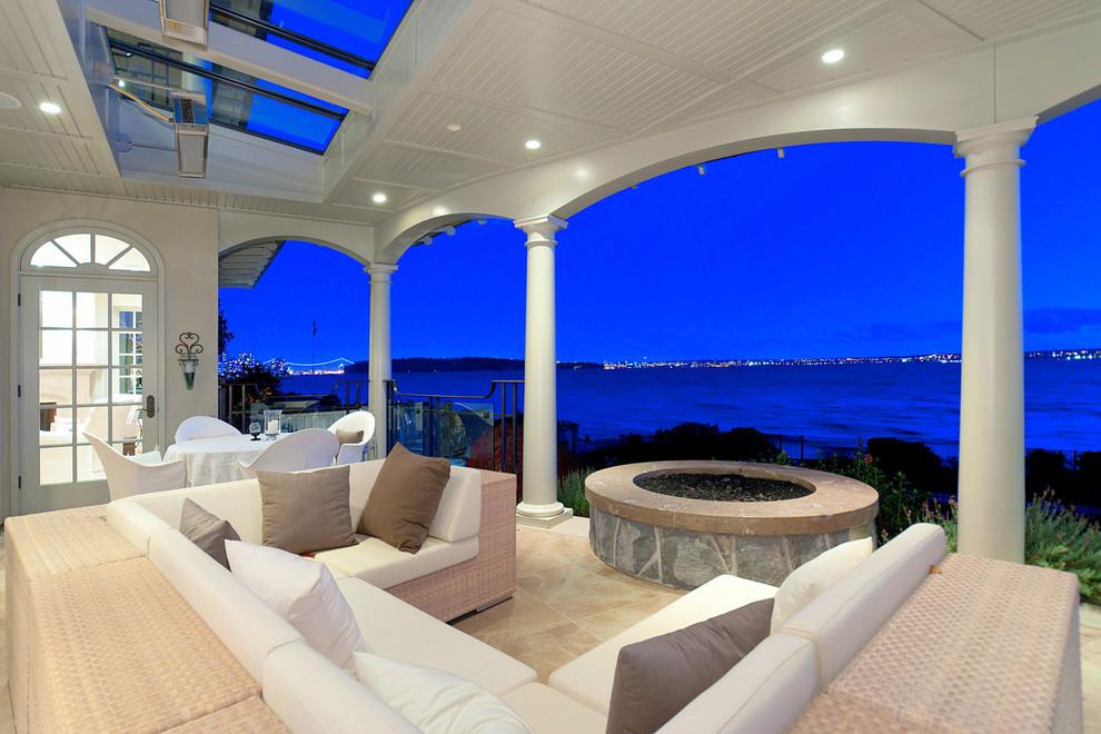 40平米海边别墅阳台