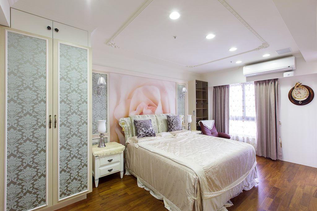 简欧时尚卧室吊顶图图片