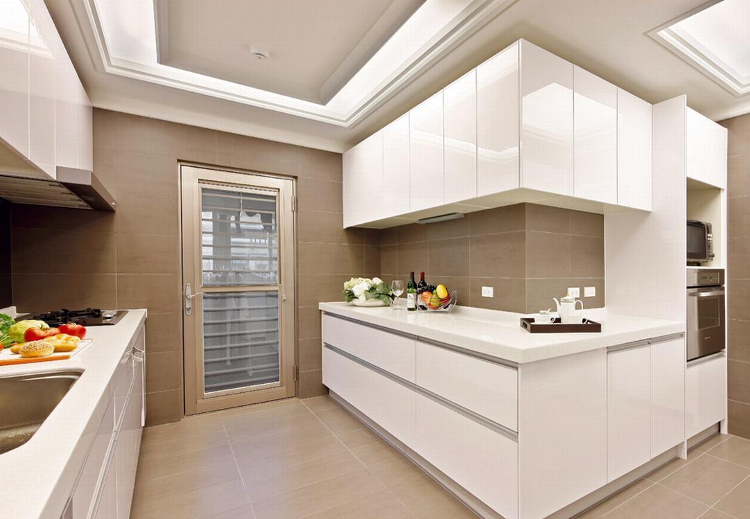 变身雅仕新古典豪宅三室两厅欧式厨房装修效果图设计欣赏