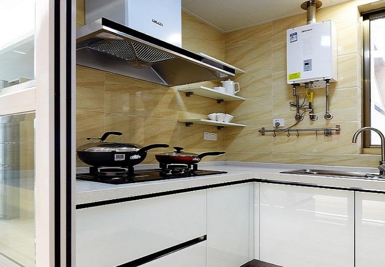 现代小户型室内厨房装修效果图