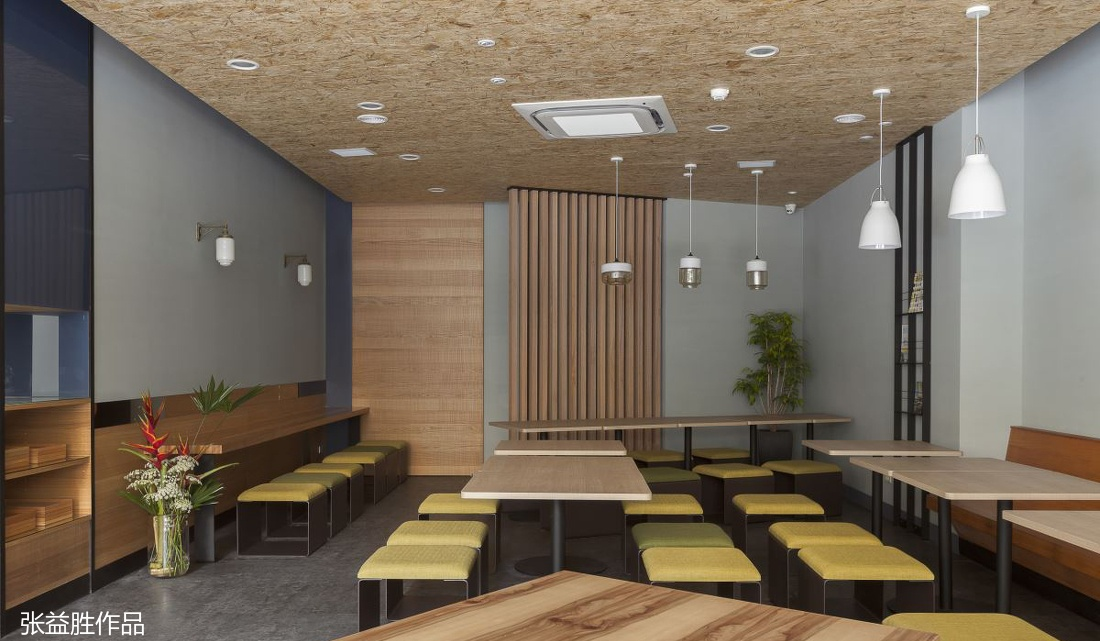 小餐馆吊顶装修图片