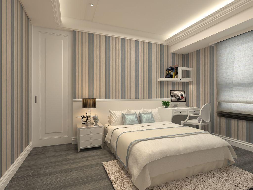 复古欧式风格家装卧室效果图 - 装修效果图 - 九正
