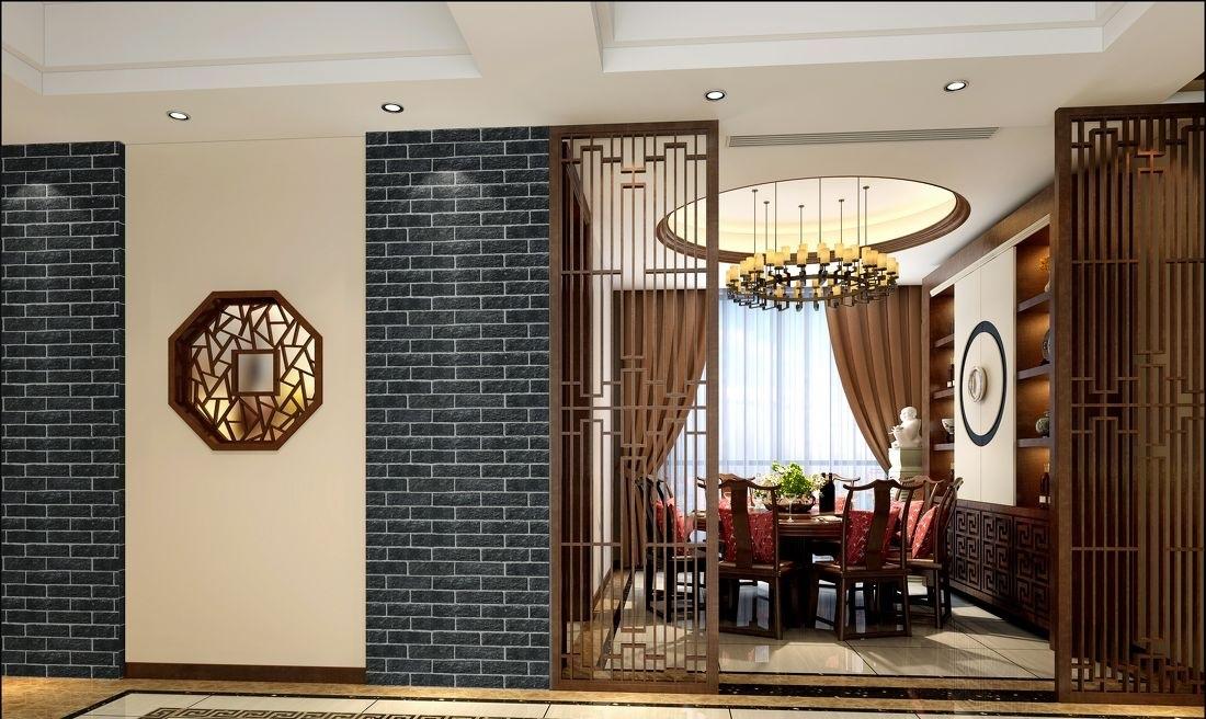 中式餐厅门头造型设计