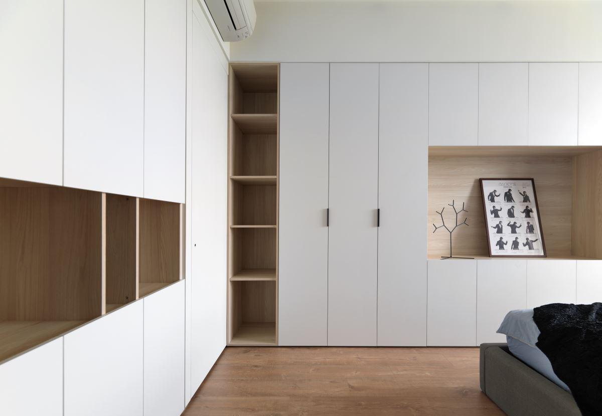 北欧风格定制衣柜装修效果图图片