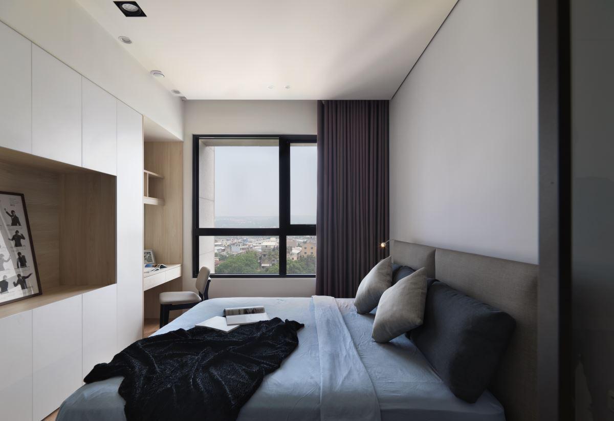 北欧风格卧室精简装潢设计 - 九正家居装修效果图