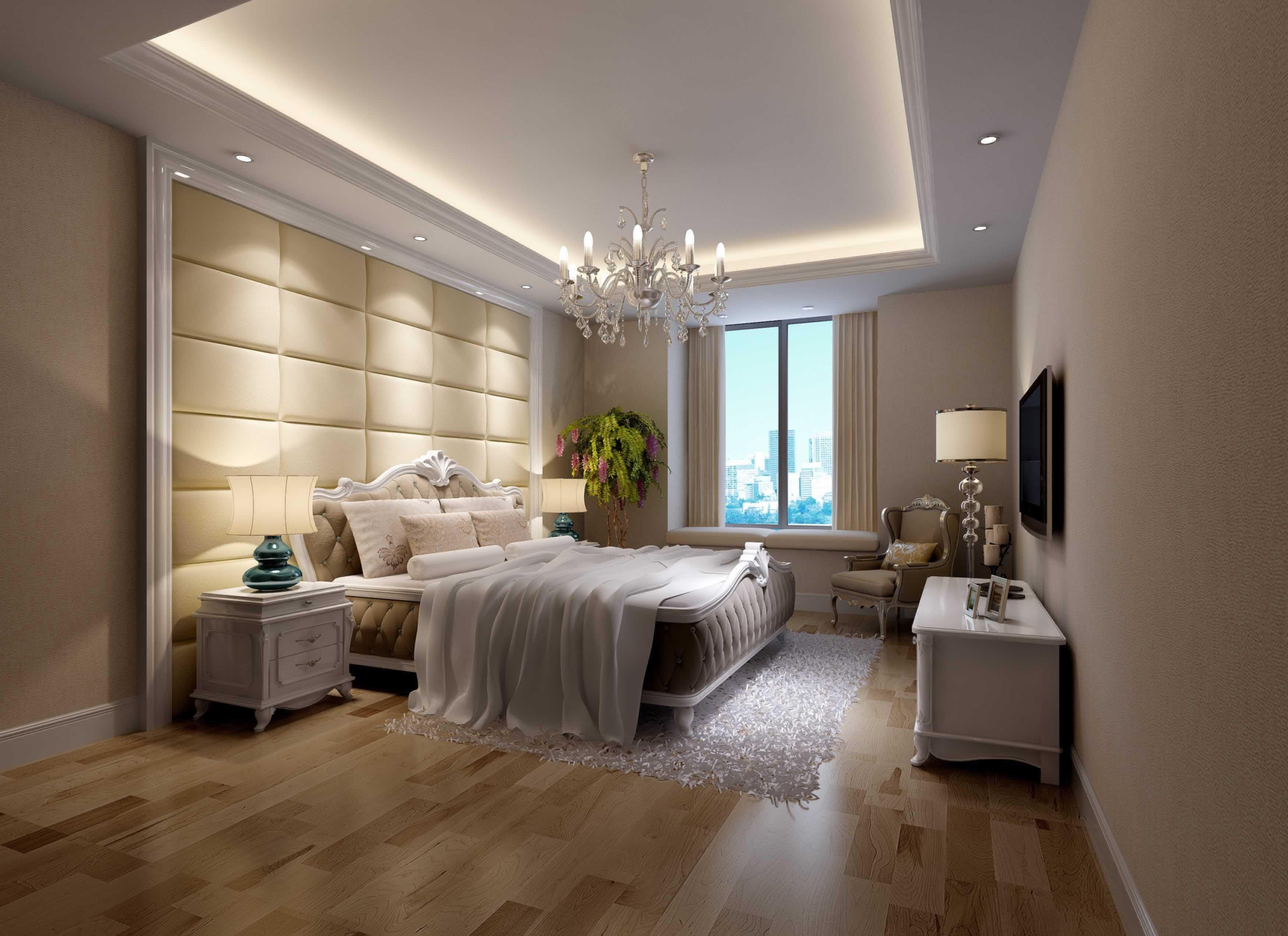 欧式小清新卧室装修效果图