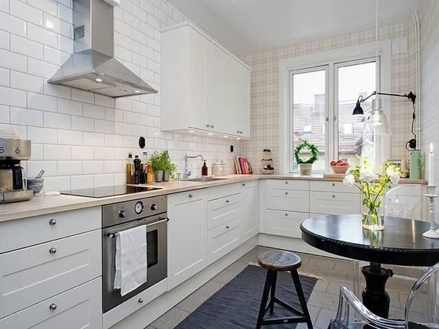 北欧厨房橱柜设计装修风格样板间 - 九正家居装修效果