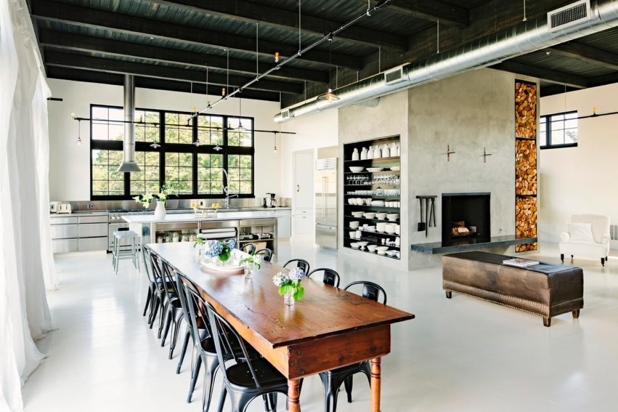 现代餐厅风格桌椅