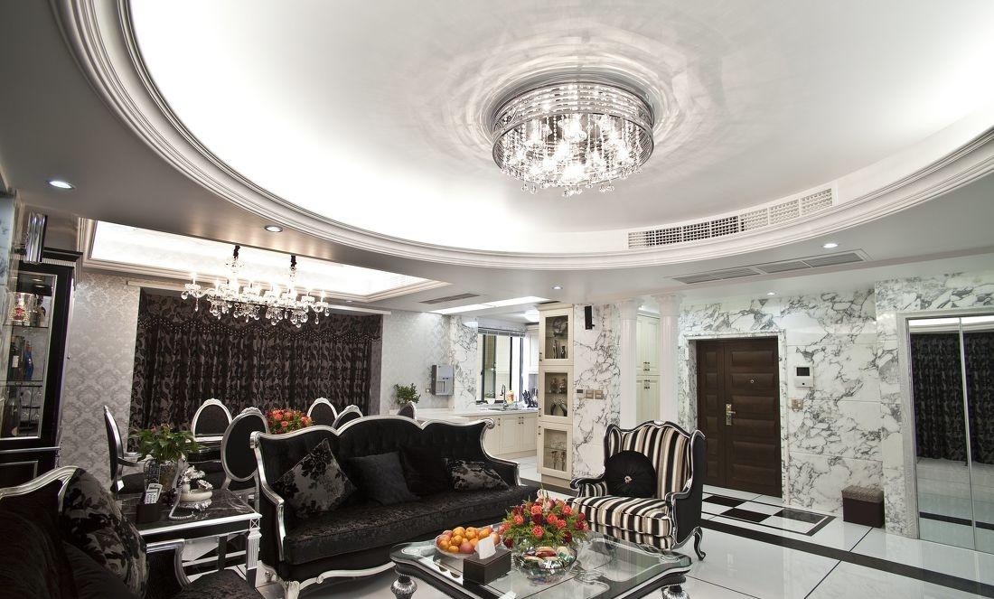 最新欧式客厅吊顶图片图片