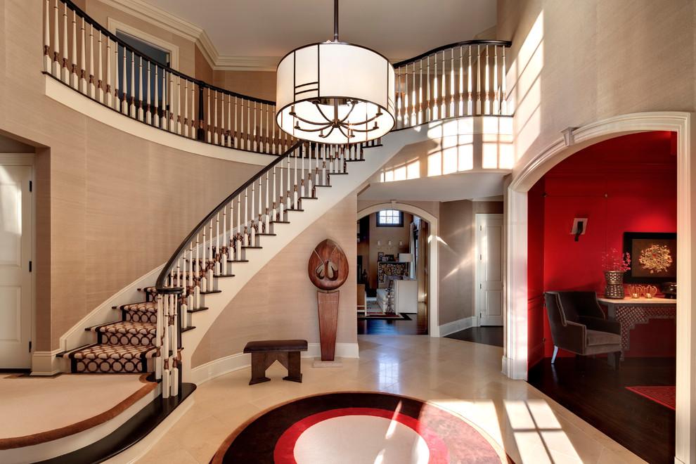 复式楼房欧式风格复式欧式客厅装修效果图设计欣赏图片