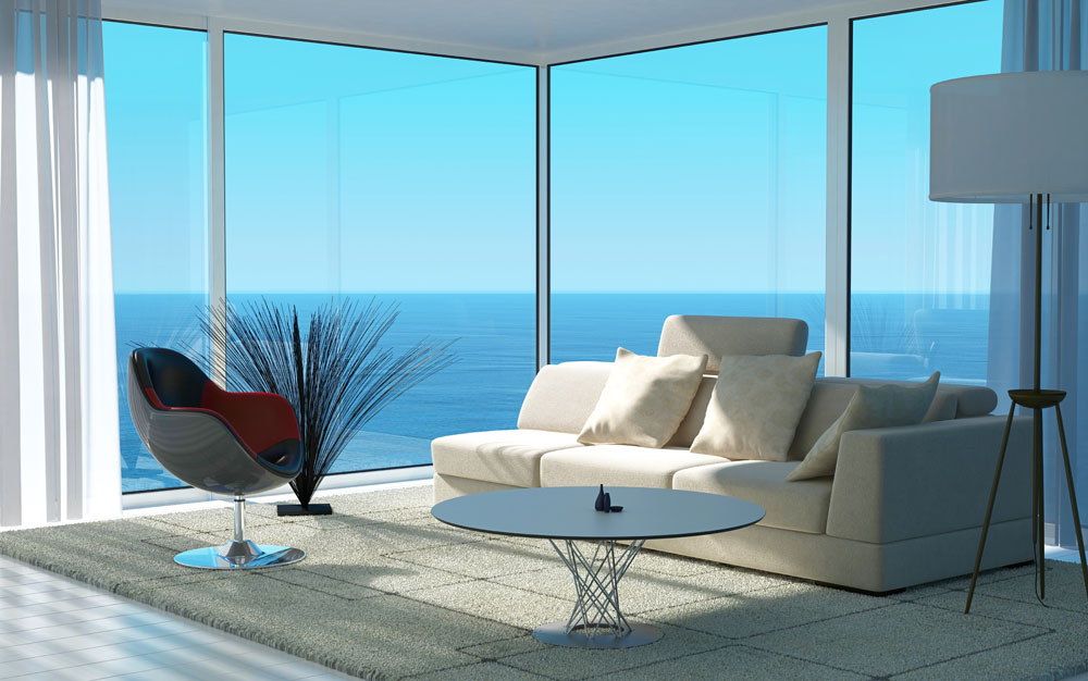 海景房客厅设计风格图片