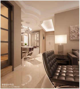 客厅餐厅过道装修效果图-客厅过道效果图