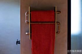 水管毛巾架图片