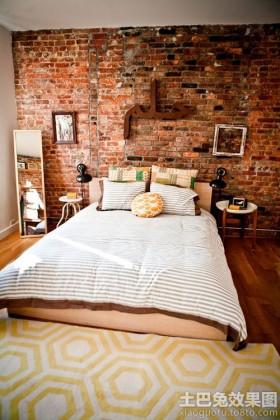 卧室文化砖贴图