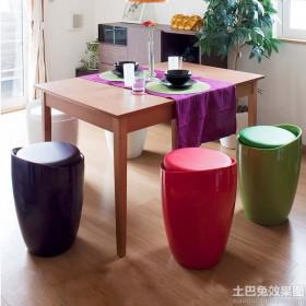 休闲塑料凳子图片