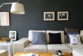 简约风格客厅墙面颜色效果图片