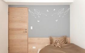 卧室实木门装修效果图