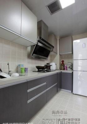 厨房不锈钢橱柜装修效果图片大全
