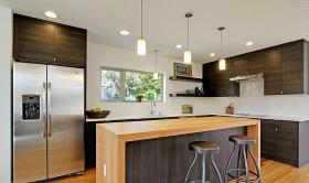 不锈钢橱柜整体小厨房图片