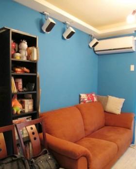 40平米现代小户型客厅墙面颜色效果图