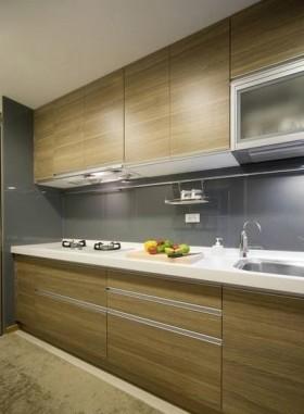 现代家装整体大理石台面橱柜效果图