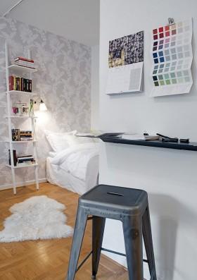 瑞士精致时尚小公寓设计