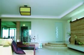 小户型客厅吊灯装修效果图