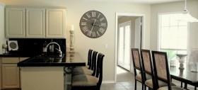厨房创意挂钟图片